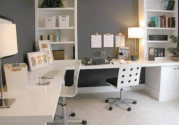 Incredible Creating A Functional Home Office Mens Style Largest Home Design Picture Inspirations Pitcheantrous