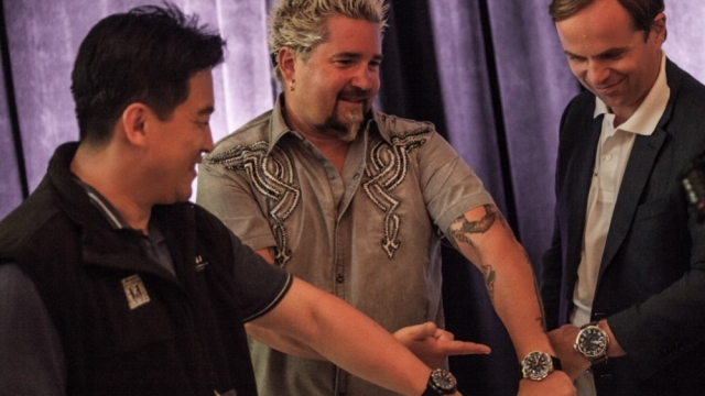 Alain_Huy,_Guy_Fieri_and_his_new_Zenith_watch_and_Jean-Frederic_Dufour_640_360_s_c1_center_center[1]